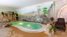 Whirlpool Schwimmbad relax