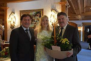 Familie Eckert Landrat Klaus Peter Söllner