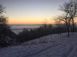 Geocaching Winter Fichtelgebirge