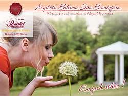 Broschüre Bellevue Spa Beautyfarm