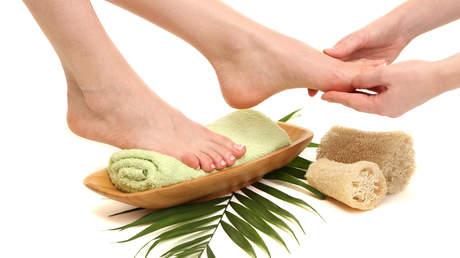 Ayurvedische Fußmassage