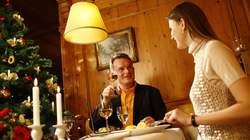 Heiliger Abend, Feinschmecker Buffet, Restaurant, Bayreuth