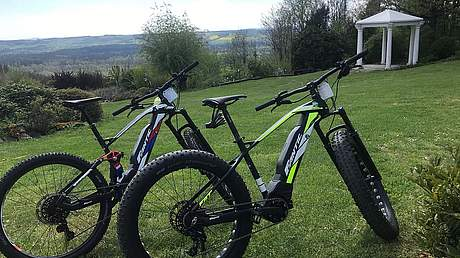 Urlaub mit E-Bike Hotel Reiterhof Wirsberg