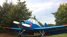 Saatflugzeug Reiterhof Wirsberg