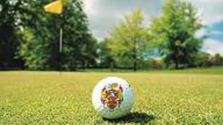 Golfball Eckert Wappen Reiterhof