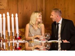 romantisches Abendessen Reiterhof