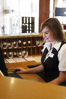 Hotelfachfrau Rezeption Reiterhof Wirsberg