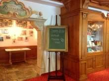 Aufschrift Tafel Hotel