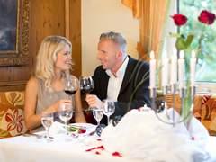 Valentins Menü mit Weinreise