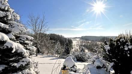 Winterurlaub Oberfranken Fichtelgebirge