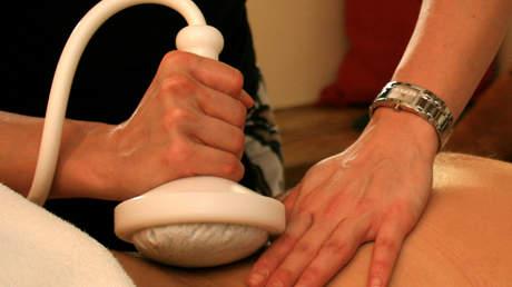 Kräuterstempel Körpermassage